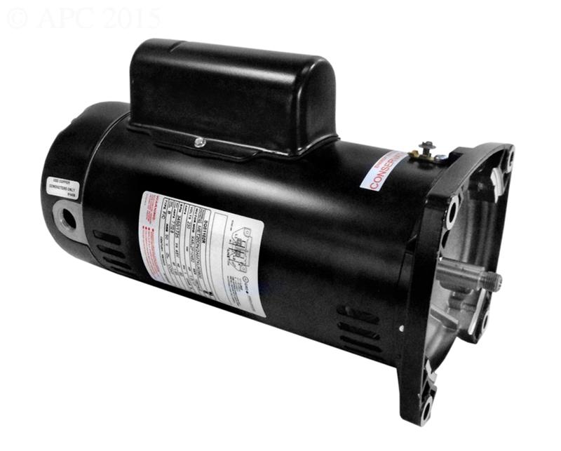 Energy efficient 2 speed pool pump motors 48y frame for High efficiency pool pump motor