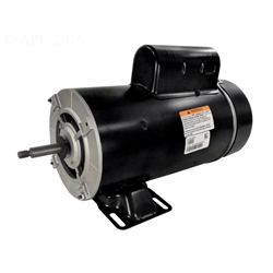 Bn62 3hp above ground 2 speed pool pump motor 48y frame for Above ground pool pump motor