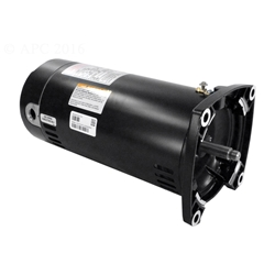 Sq1102 1hp energy efficient full rated pool pump motor 48y for Energy efficient pool pump motors