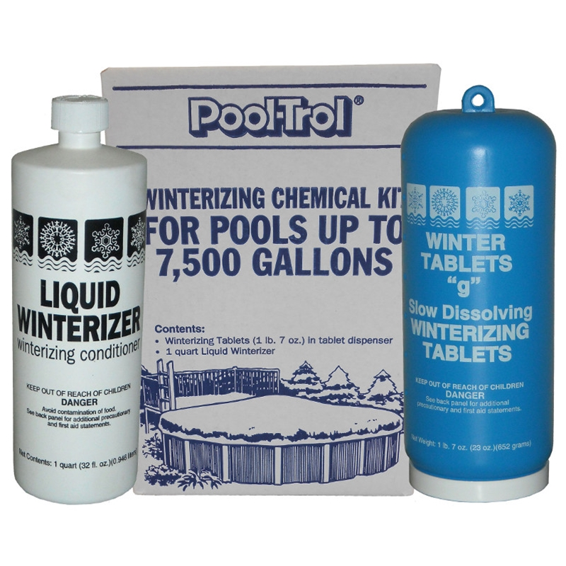 Swimming Pool Winter Closing Kits Winter Kits Winter Pool Chemicals