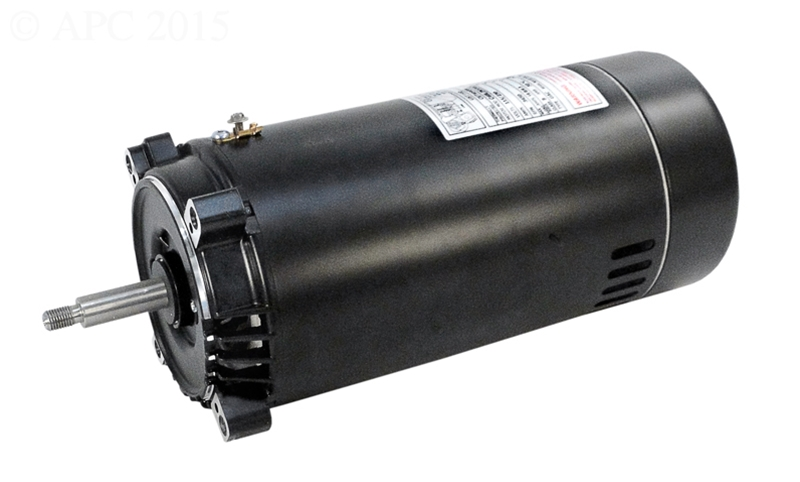 Single Speed Up Rated Two Compartment Pool Pump Motors 56c