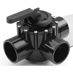 263056 | FullFloXF 3-Way Diverter Valve CPVC 2-1/2 Inch
