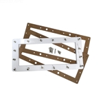 516265 | Face Plate Kit Widemouth White