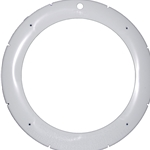 79213100 |  Large Plastic Snap-On Face Ring White