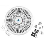 A10RCFR101 | 10 Inch Universal Main Drain Cover White