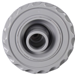 25591-210-000 | Scalloped Jet Internal with 3-1/2 Inch Flange White