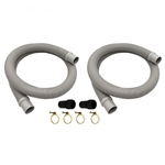 EC1155 | 1.5 Inch Hose Kit with Adapters and Clamps