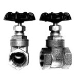 .75In Fpt Brass Gate Valve