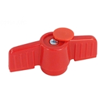 HMIP150 HANDLE | Ball Valve Handle PVC Red