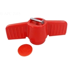 HMIP200HANDLE | Ball Valve Handle PVC Red
