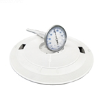 L1 | Skimmer Lid with Thermometer - White