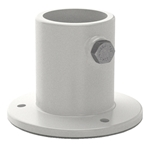 PF-2115-L | Pool Deck Ladder Flange Aluminum