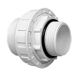200-90015 | Full Flow 1-1/2 Male x 2 Inch Socket Union with O-Ring