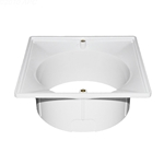 SPX1082F | Adjusting Collar for Square Lid White