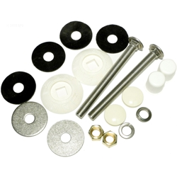 67-209-909-SS | Residential Diving Board Butt Plate Kit