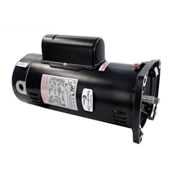 Sq1202 2hp energy efficient full rated pool pump motor 48y for Energy efficient pool pump motors